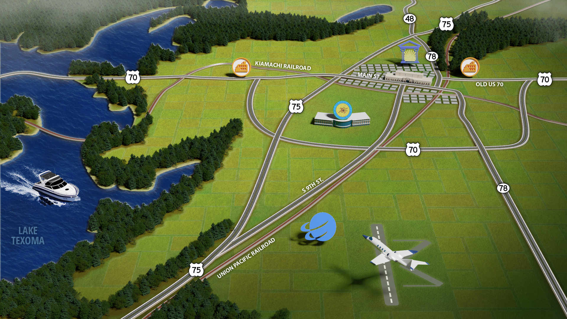 3D base map